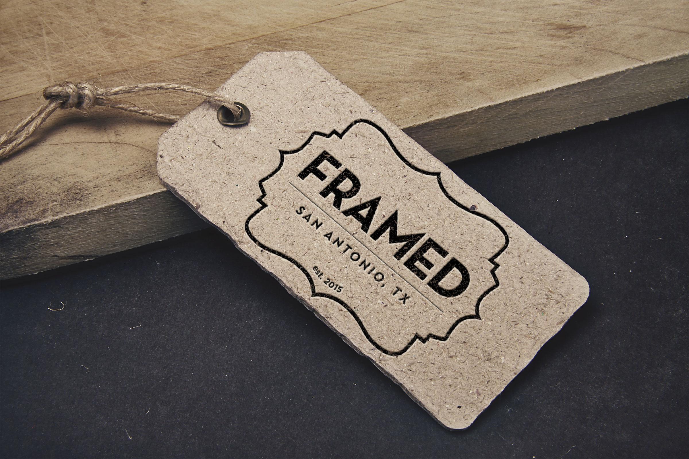 Framed Tag