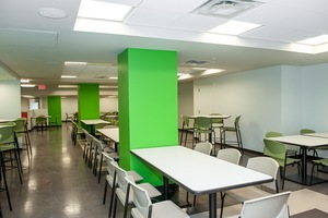 Marriott Marquis - Employee Lunch Room - Washington, DC