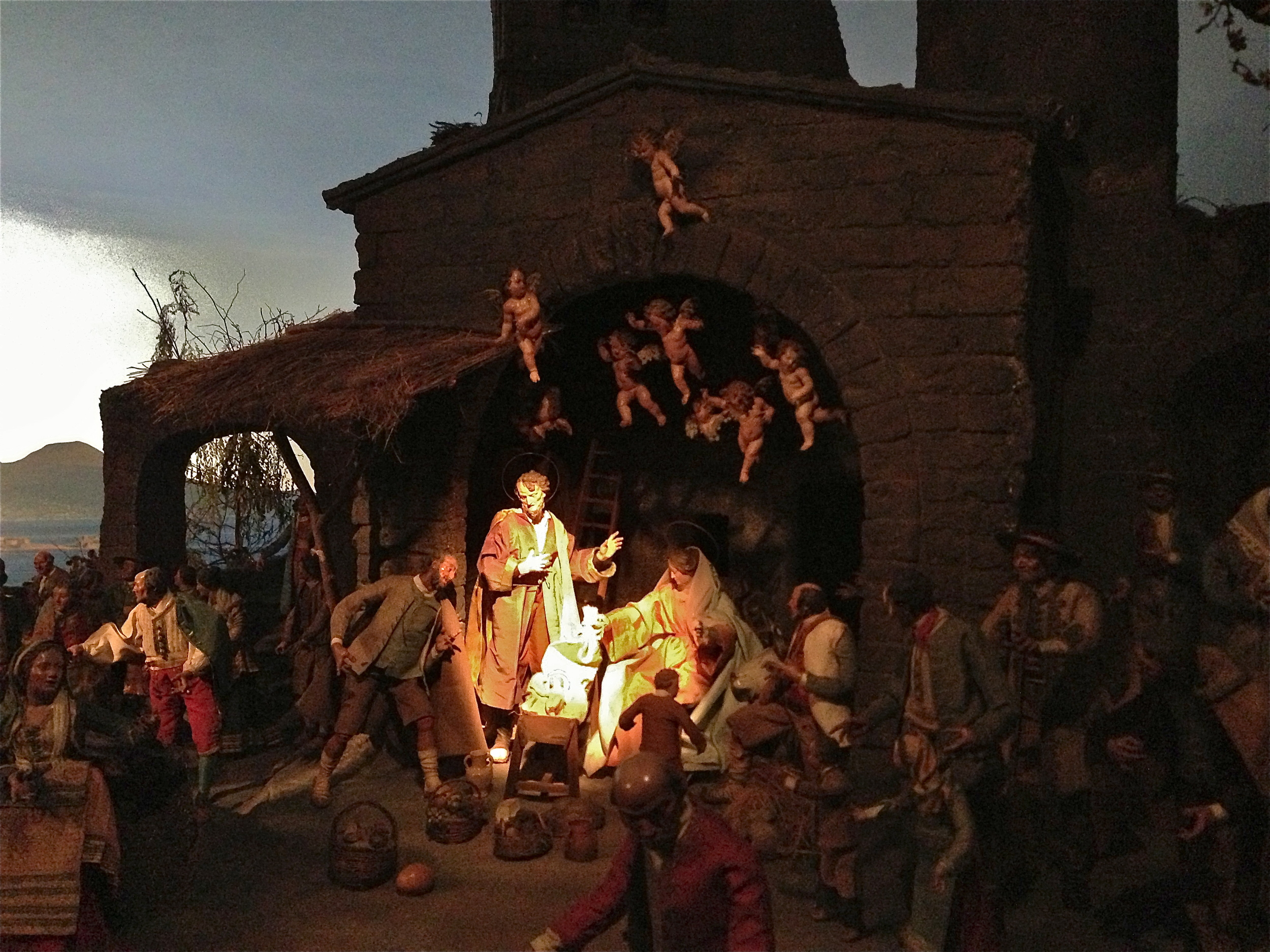 A STUNNING CRECHE AT THE BAVARIAN NATIONAL MUSEUM