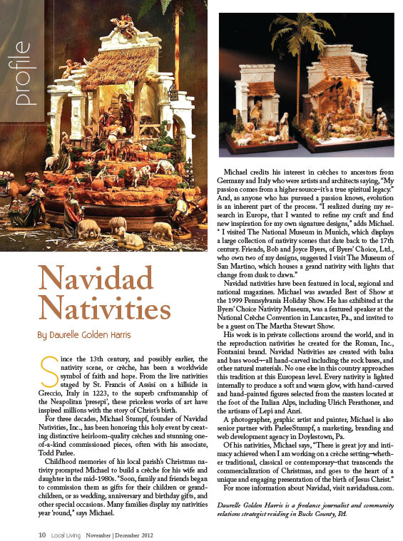 ARTICLE IN LOCAL LIVING™ MAGAZINE