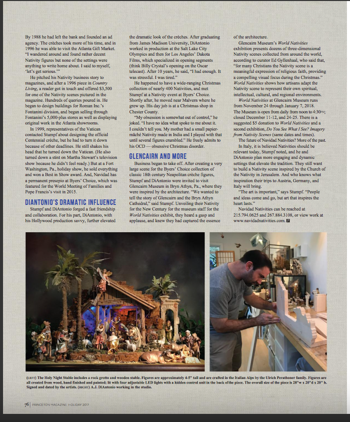 6 page article Princeton Magazine and Urban Agenda