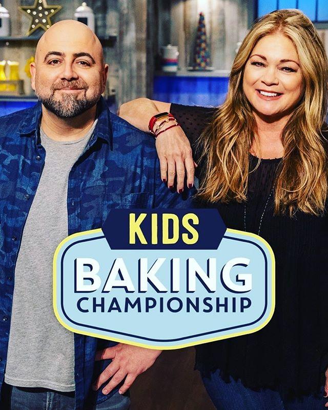Don't miss out on the season 7 premiere of Kids Baking Championship tonight on Food Network at 9pm ET 🙌🏼 . . . . . #kidsbakingchampionship #foodnetwork #valeriebertinelli #duffgoldman #tonight #seasonpremiere #baking #show