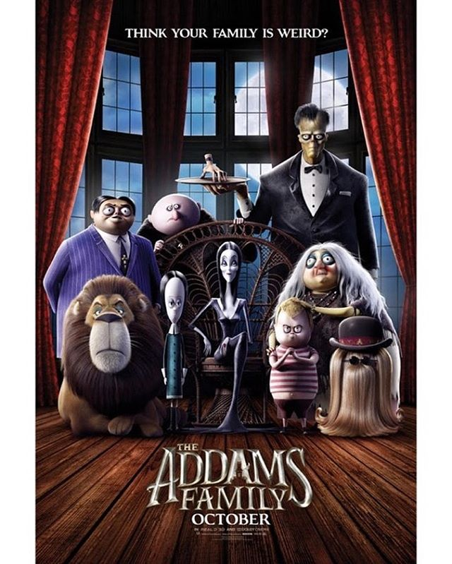 There are new neighbors in town 🙀Check out the new ooky trailer for The Addam's Family. The movie hits theaters on October 11, but in the meantime you can catch the trailer in the link in our bio! . . . . . #MeetTheAddams #AddamsFamily #TheAddamsFamily #mgm #trailer#movie #family #halloween #spooky #CharlizeTheron#ChloeGraceMoretz #FinnWolfhard #BetteMidler #NickKroll#AllisonJanney #SnoopDogg #ElsieFisher #oscarisaac #nickkroll #allisonjanney #bettemidler