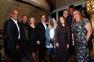 Both the AMPAS New Member Party on Tuesday night and Women's Luncheon yesterday were a huge success! What a great week for the Academy 👏🏼 . . . . . #Ampas #academyofmotionpictureartsandsciences #event #juliannemoore #whoopigoldberg #constancewu #lauradern #patrickharrison #dawnhudson #bernardtelsey #laurakarpman #rogerrosswilliams #davidrubin #cynthiaerivo #gretagerwig