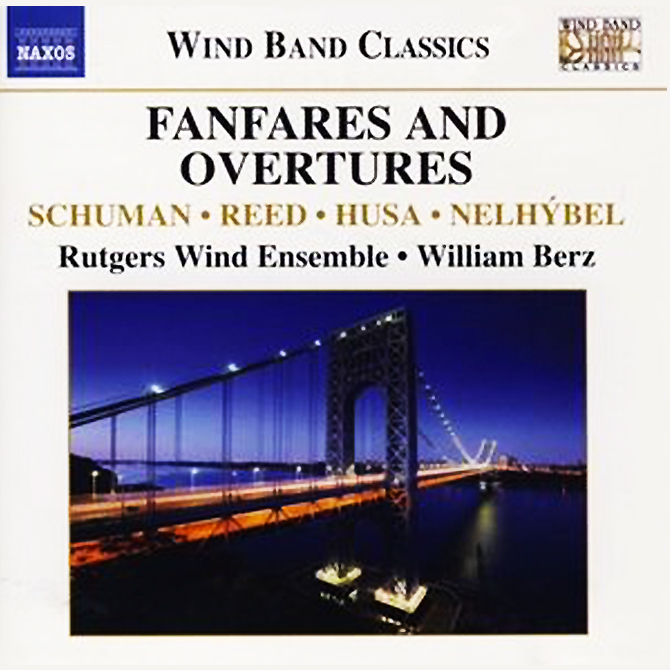 """Fanfares and Overtures - Rutgers Wind Ensemble"" 