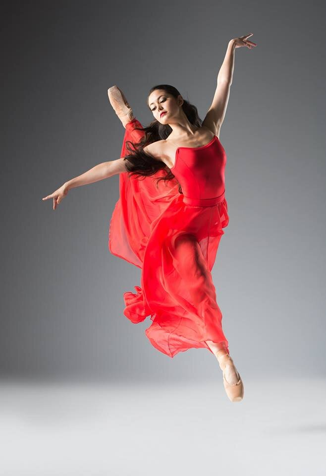Our former PFB dancer, emiko flanagan, formerly with dance theatre of harlem and opera de lyon.