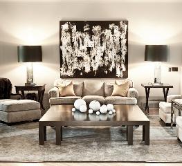 Custom Pieces for a Living Room
