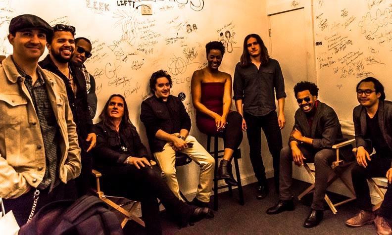 Gedeon Luke Darryl's backstage at House Pawling, New York 2015