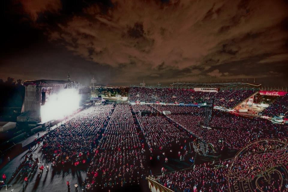 Bon Jovi Because We Can Tour Mexico City 2013