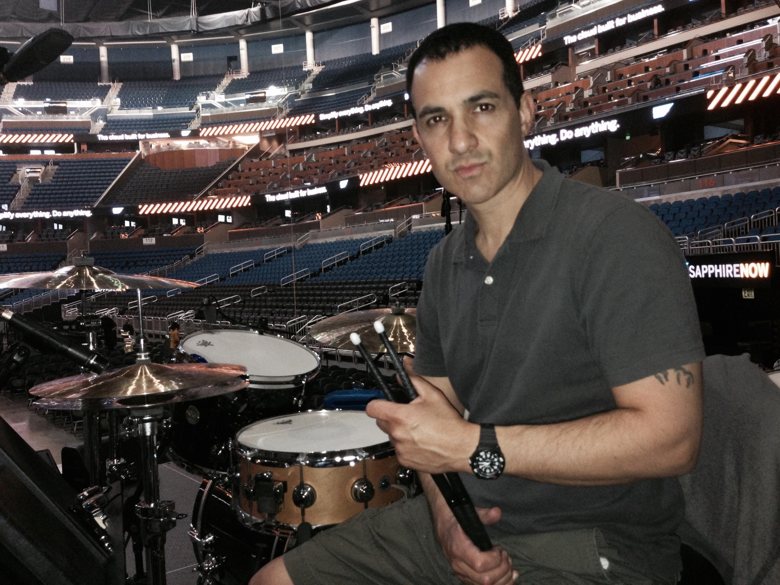 Sound check Am Way Center Orlando, Florida 2014