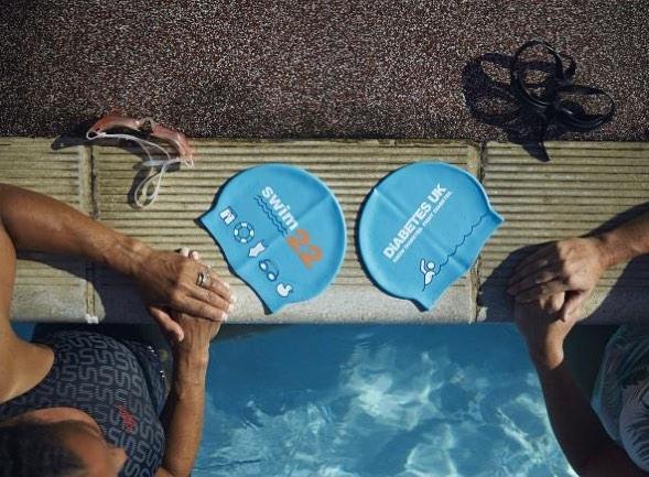 All signed up! 🏊🏼♀️⌚️💦🌊 #22mileswimchallenge #swimthechannel #bringiton #diabetesawareness
