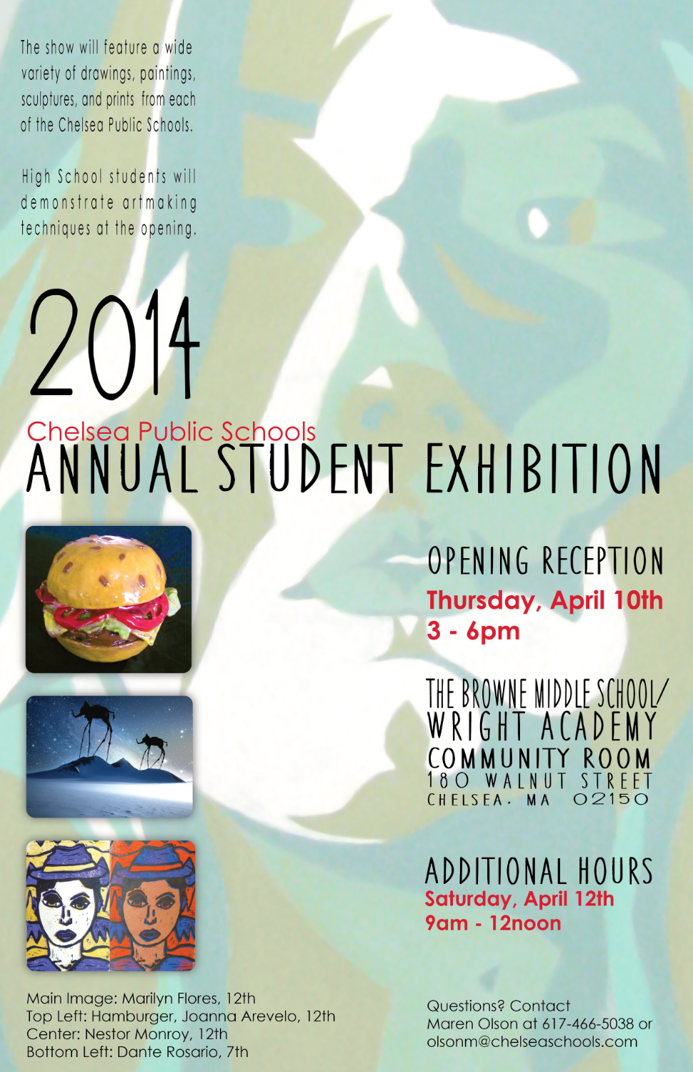 2014 CPS District Art Show Poster