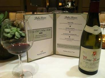 learn about wine tasting class pairing dinner menu