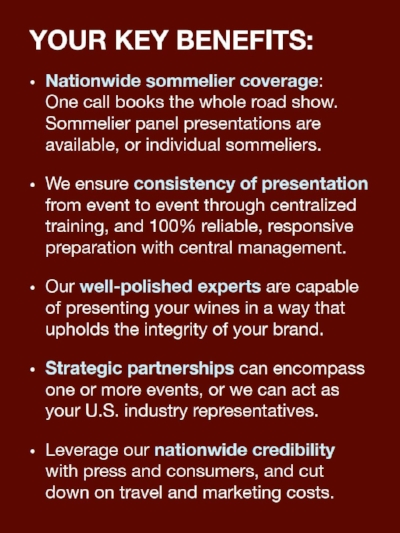 Wine Trade Promotion Firms