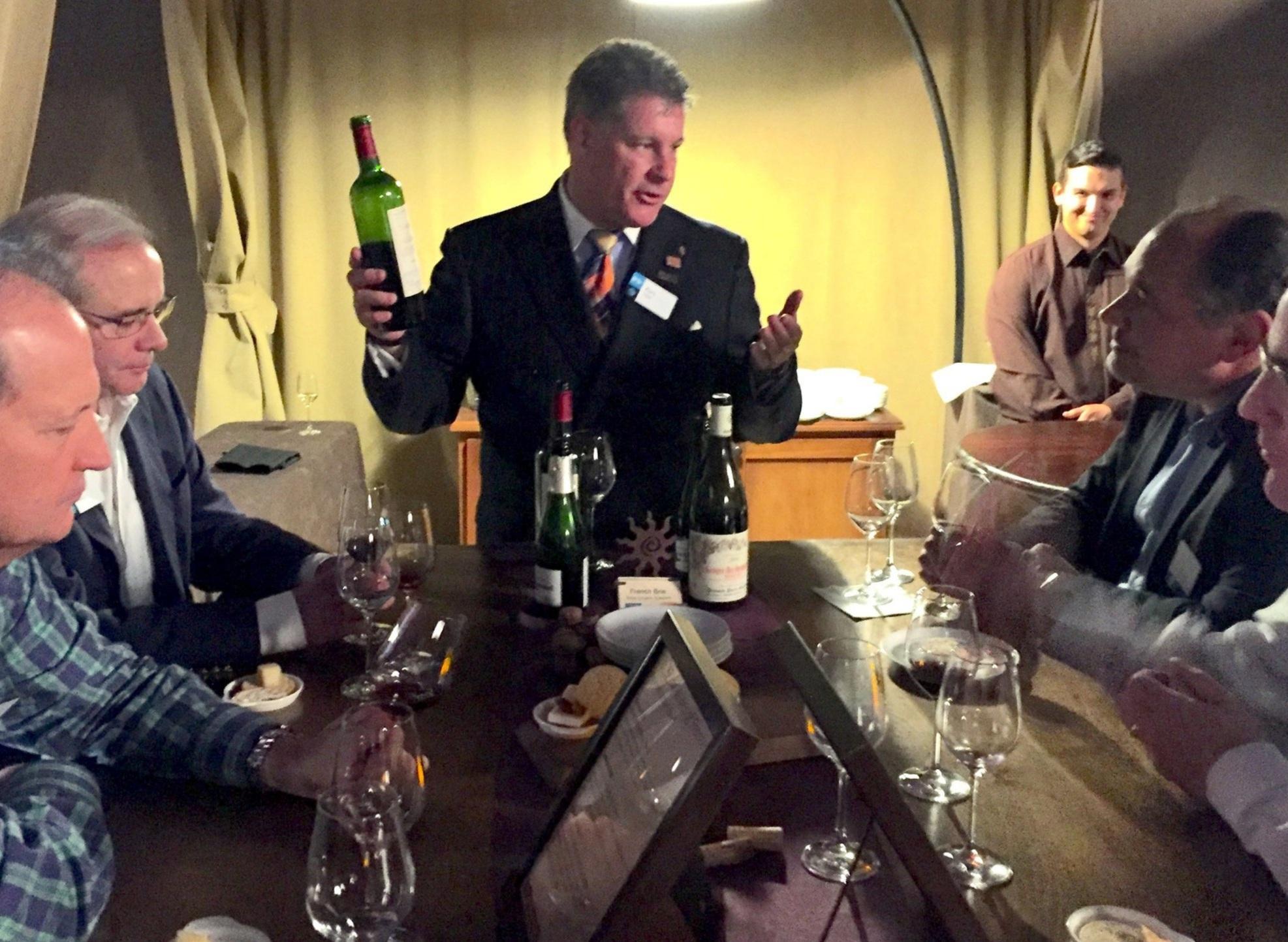 Certified Sommelier Guided Wine Tasting Seminar