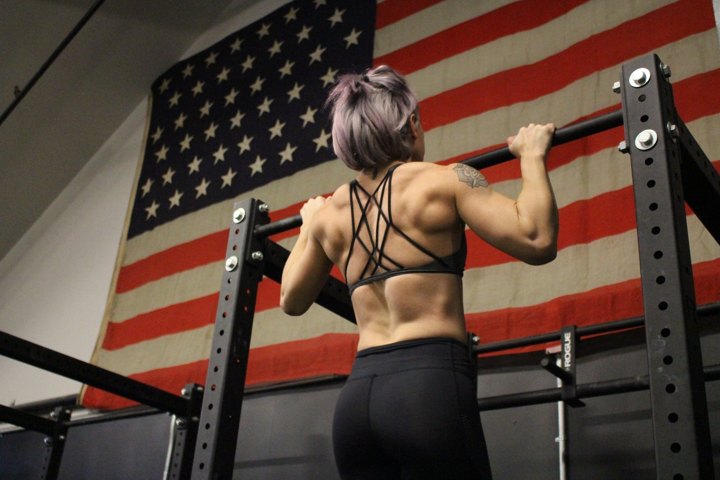 Jaclyn Moran: Owner and Operator of Warhorse Barbell - Visit www.warhorsebarbellclub.com to learn more about her!