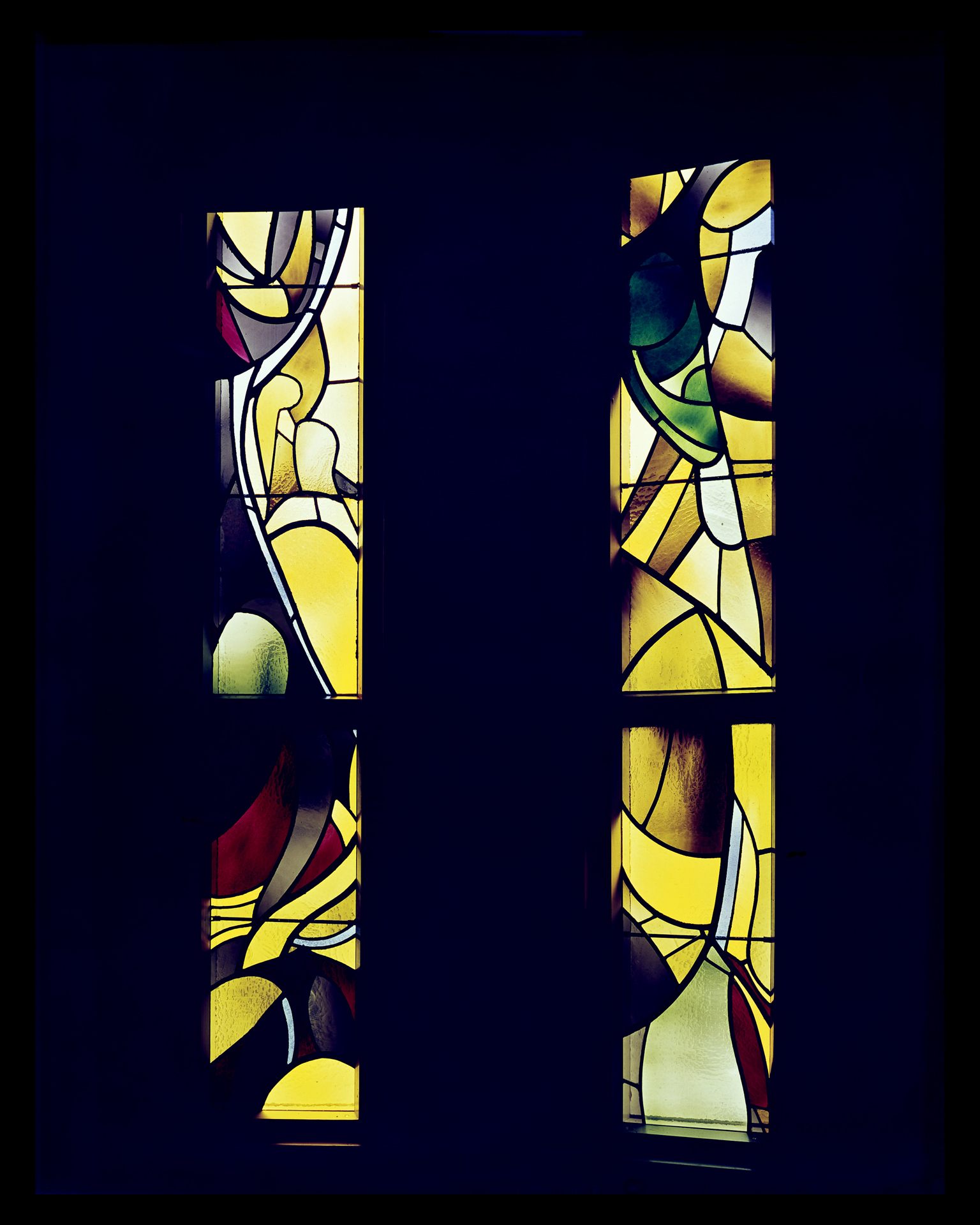 Sacristry windows    Holy Name Cathedral, San Francisco, CA (1963)