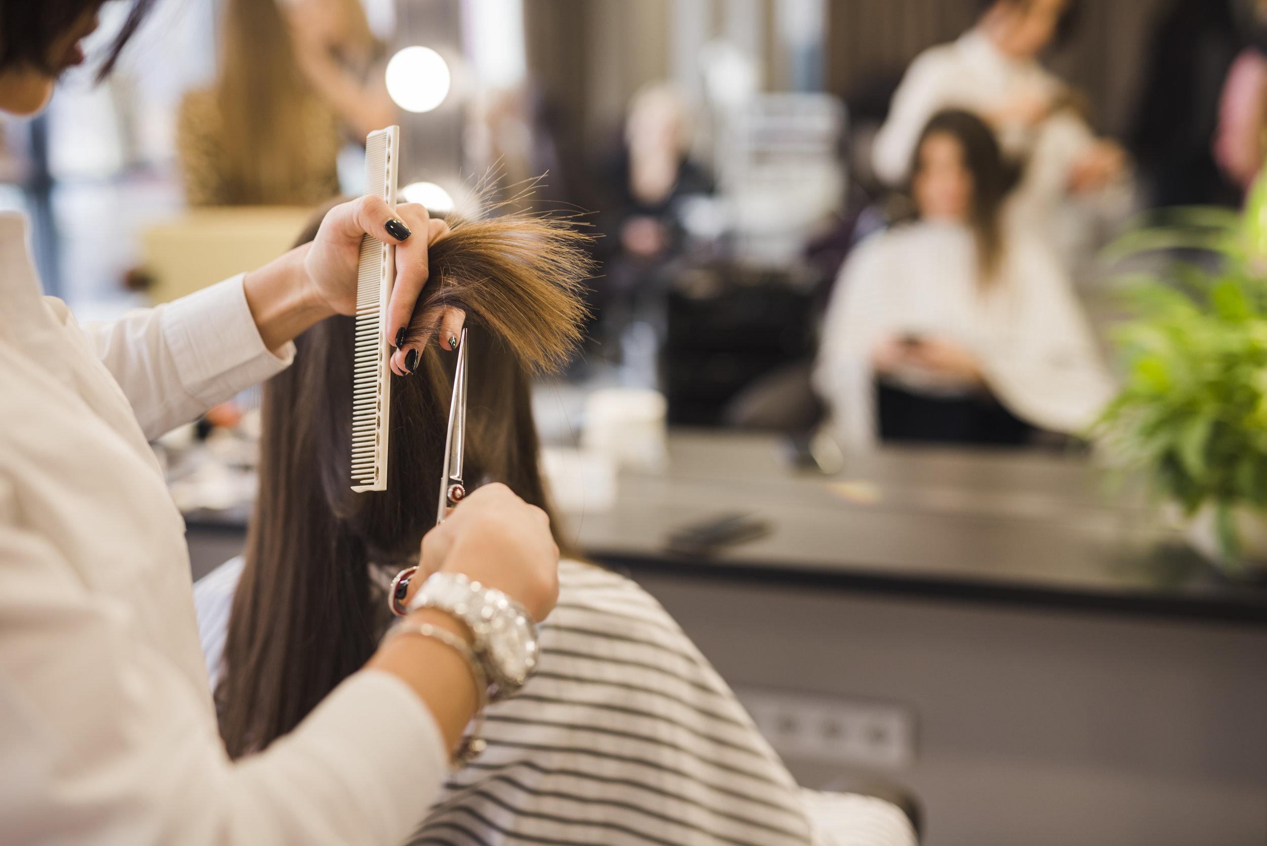 Os traços de um cabeleireiro de sucesso