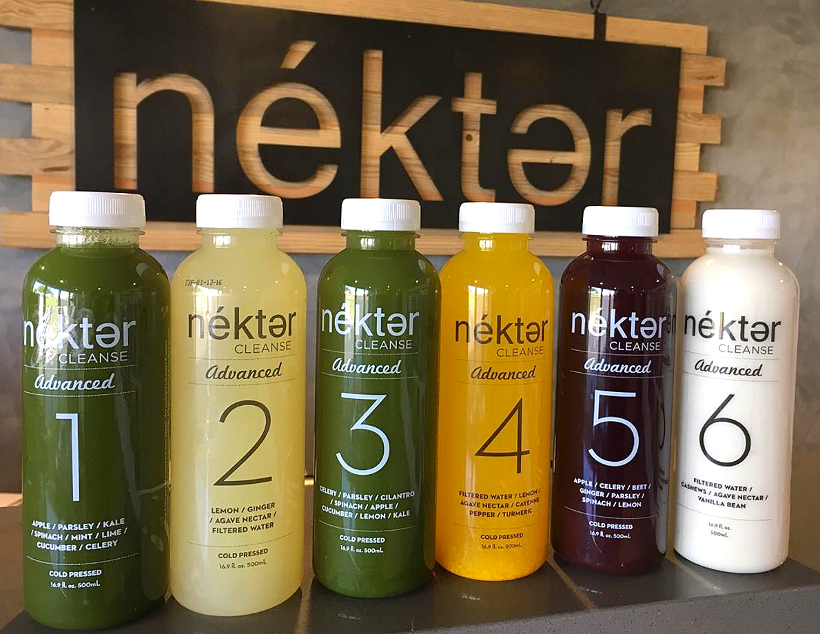 The Advanced Cleanse | photo courtesy of Nekter on Instagram