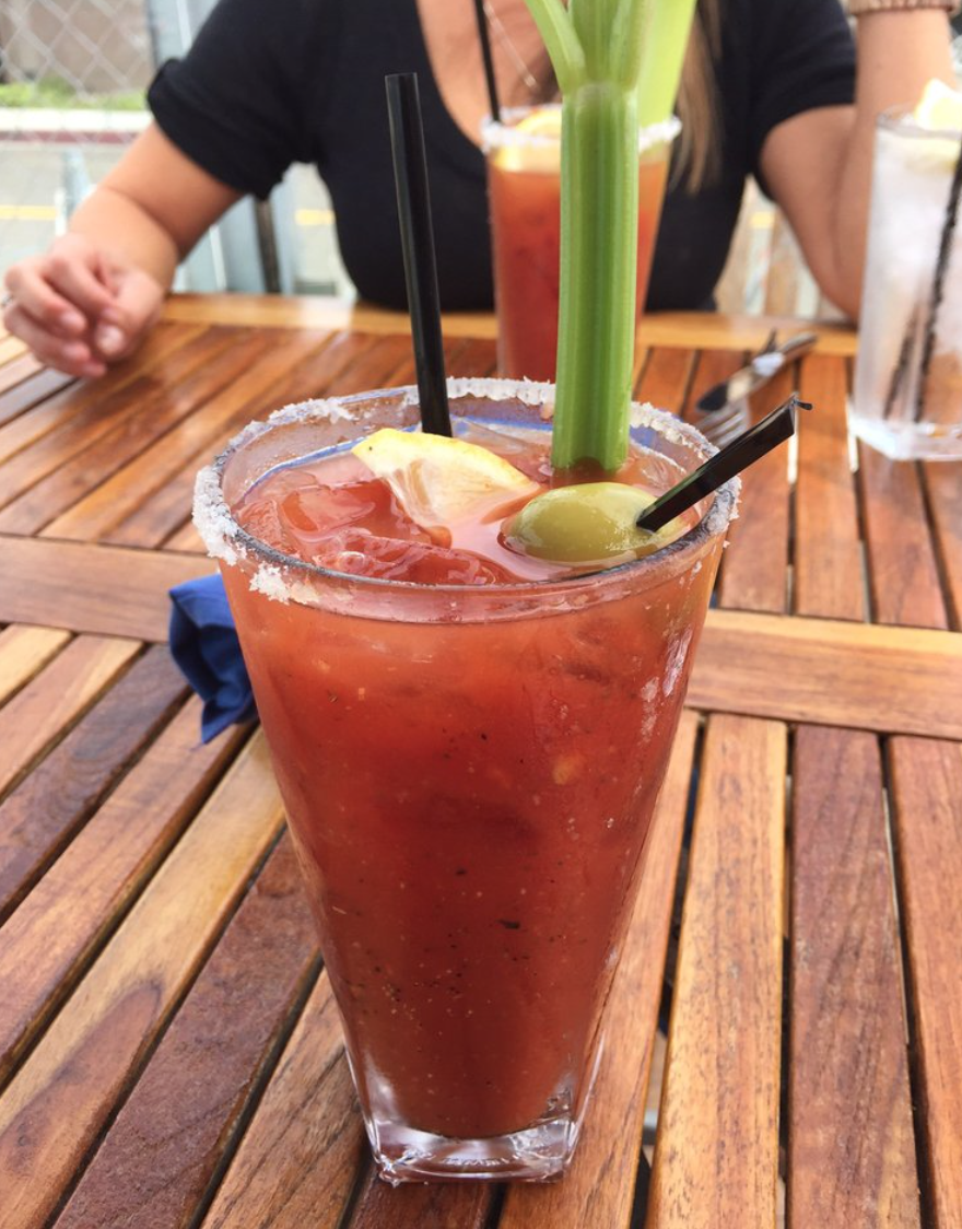 $6 Bloody Mary. Photo courtesy of The Boathouse on the Bay's Yelp page.
