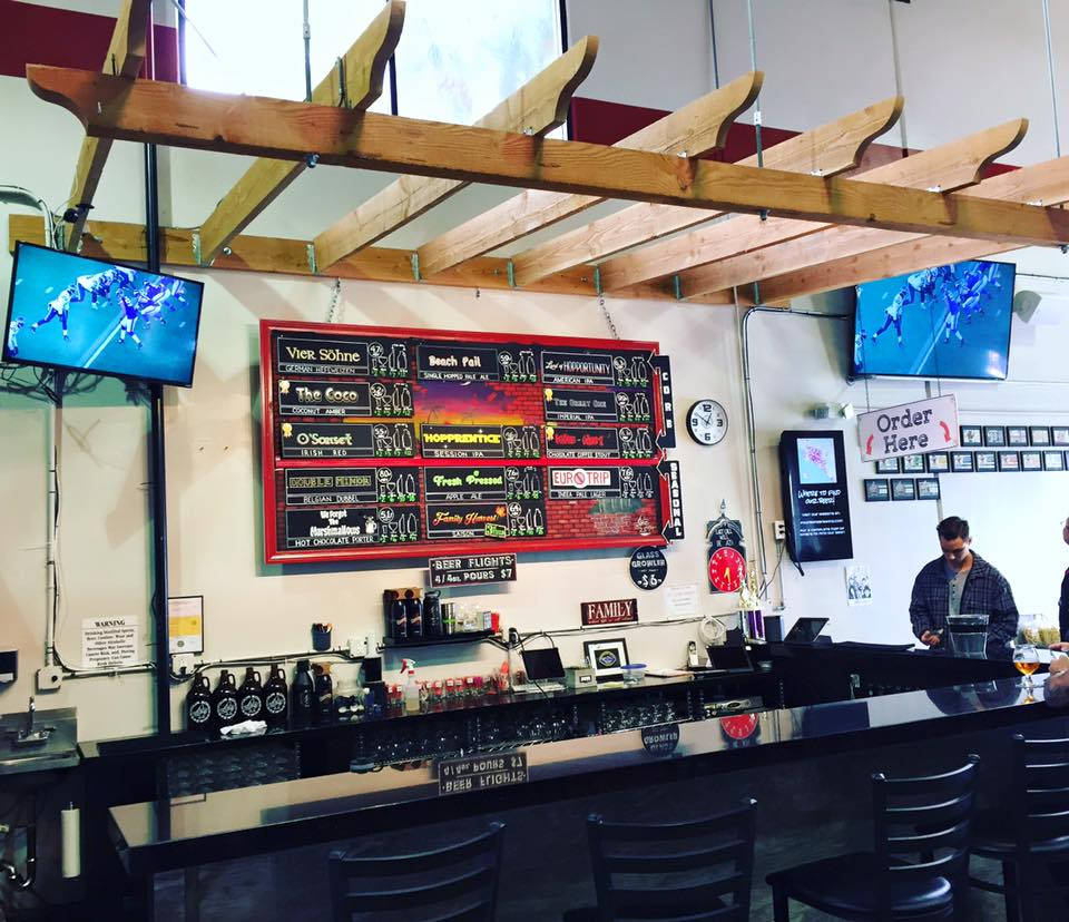 One of two of 4 Sons Brewing tasting room | photo courtesy of 4 Sons Brewing