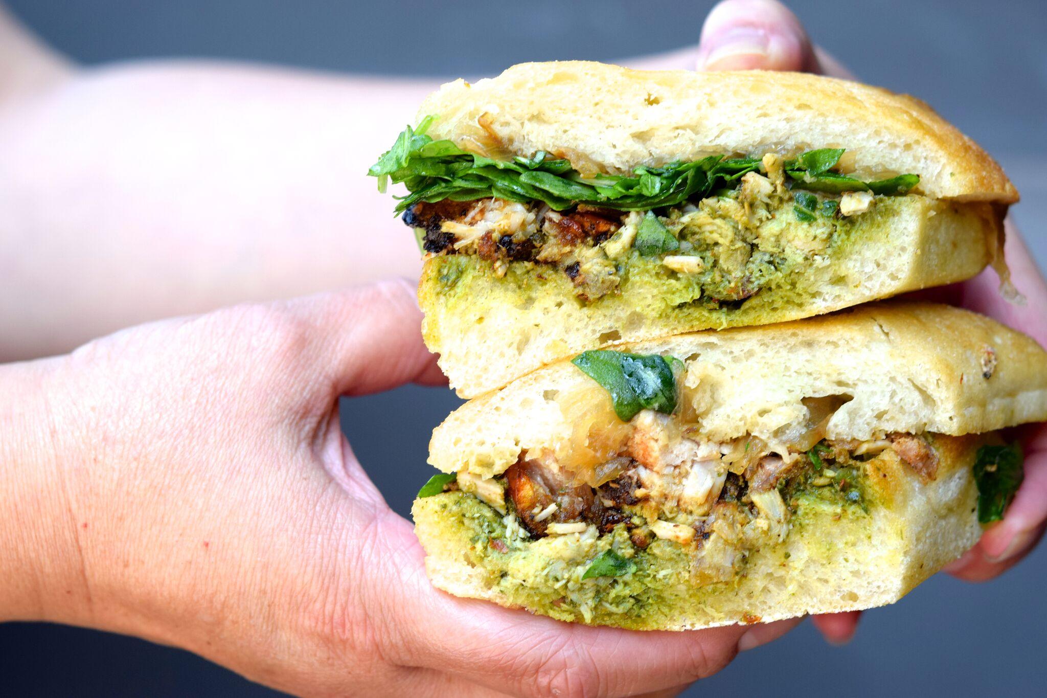 Porchetta sandwich | photo courtesy of 100eats