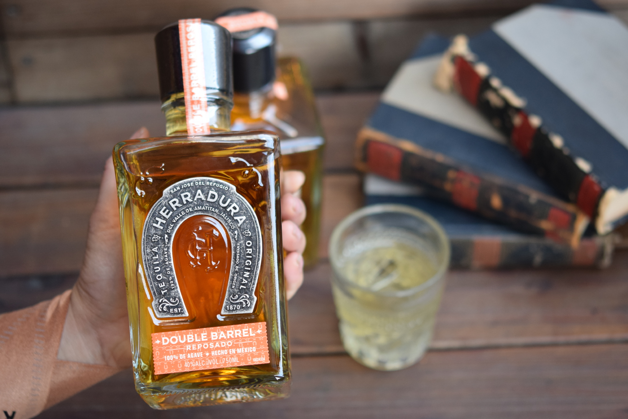 The Blind Rabbit's custom batch of Herradura Reposado Tequila.