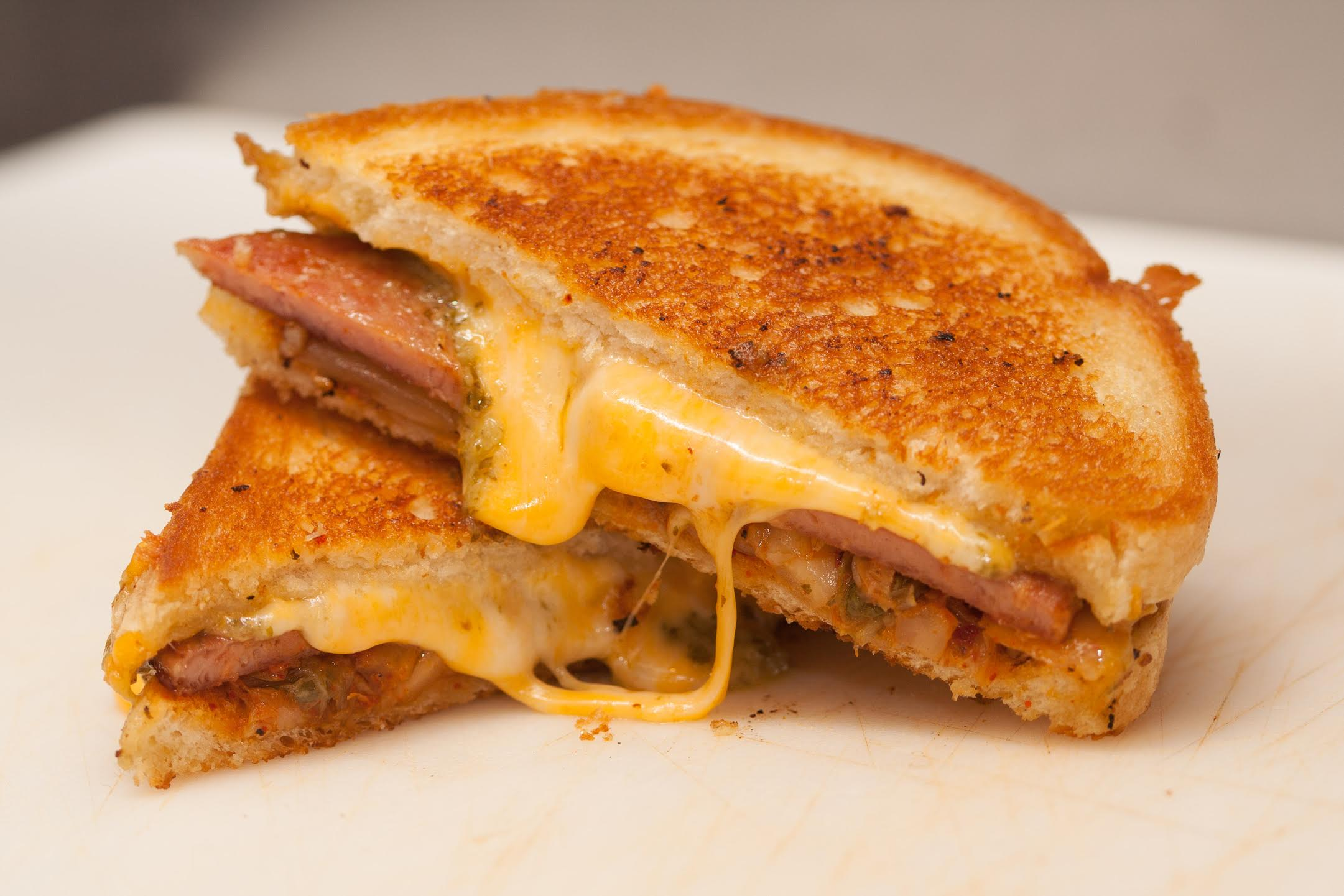 Kogi Truck's Kimchi Grilled Cheese | available at OOZEFEST, Marketplace