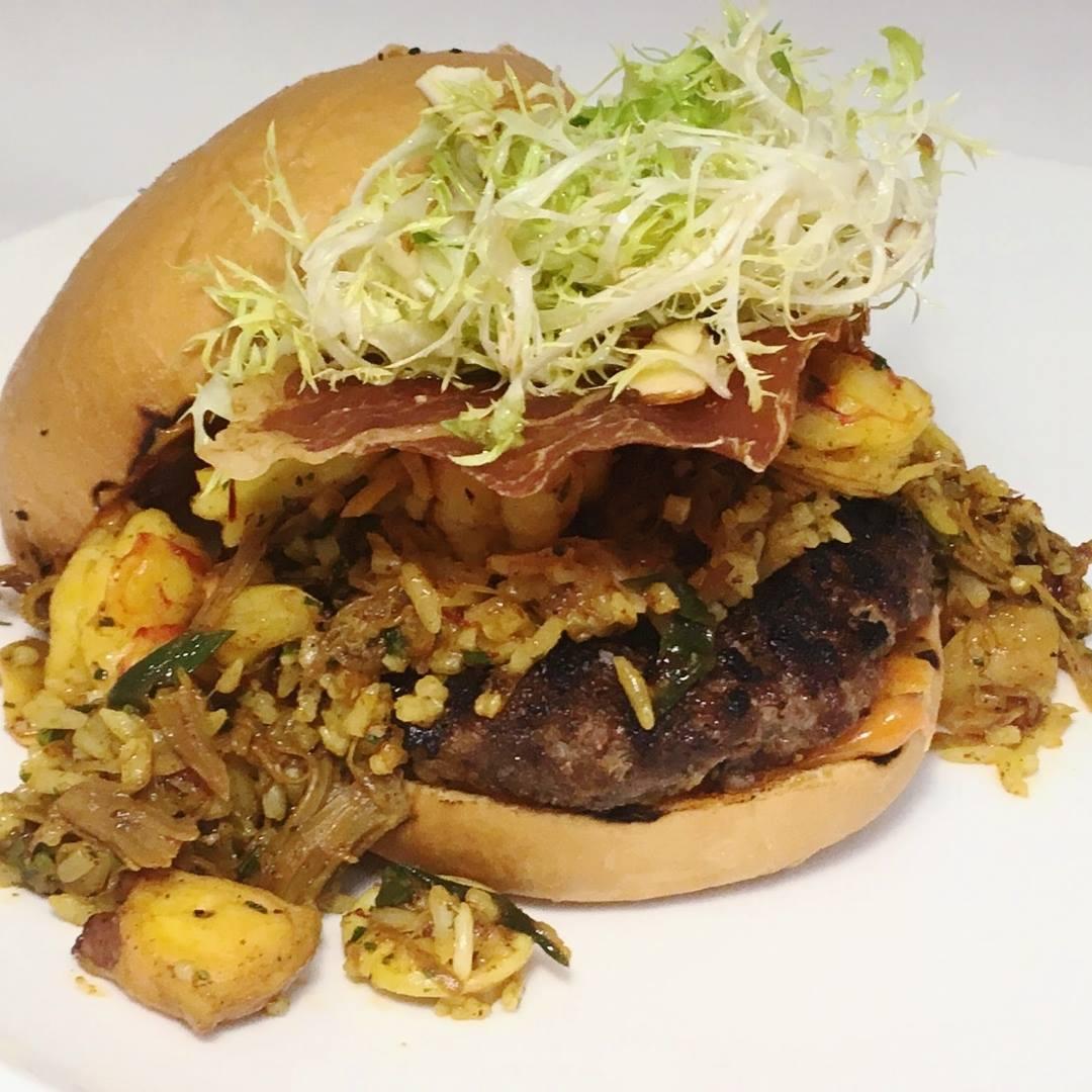 Citizen Kitchen's Barcelona Burger | Photo courtesy of Zach Geerson