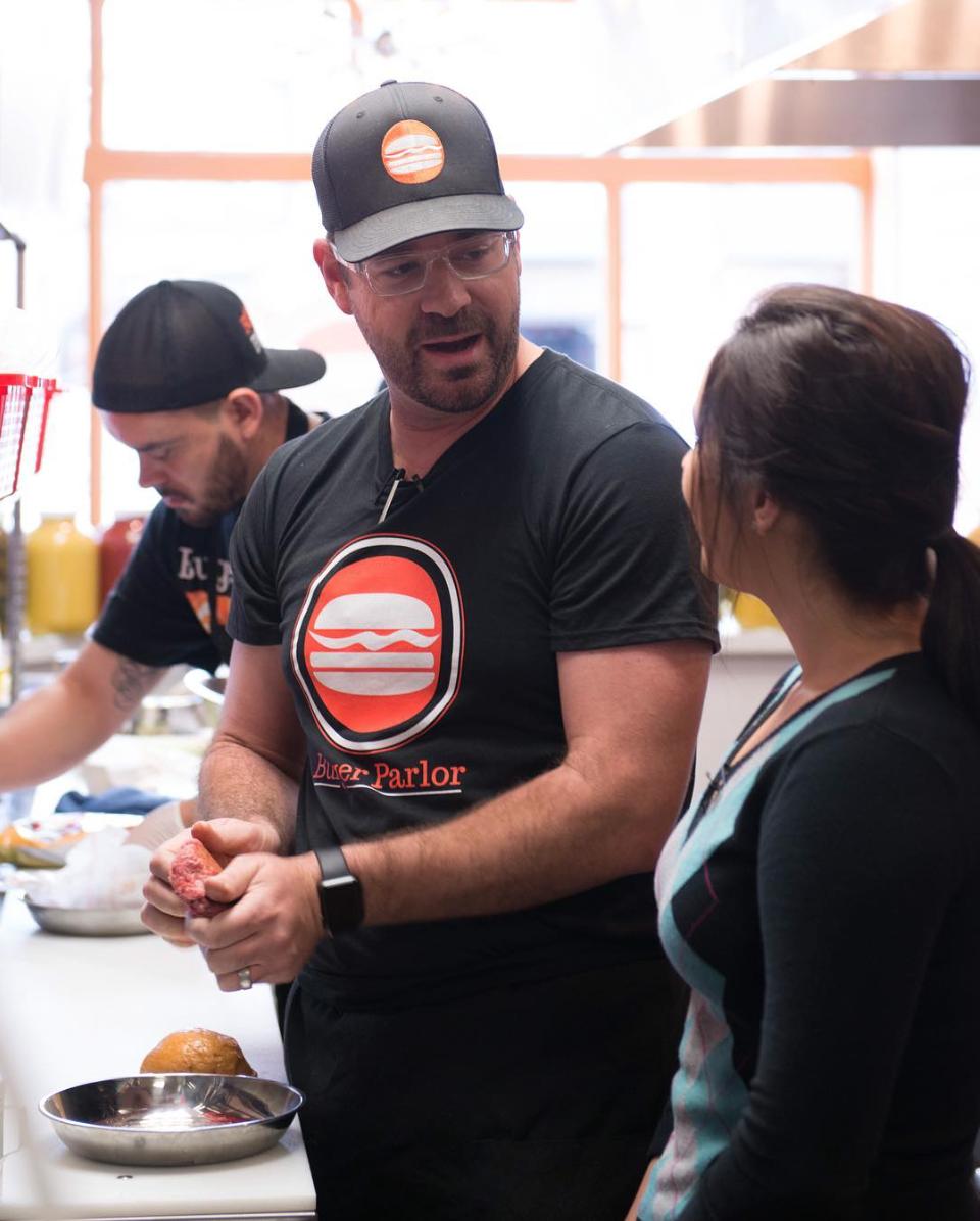 Chef Joseph Mahon | Photo courtesy of Burger Parlor via Instagram.