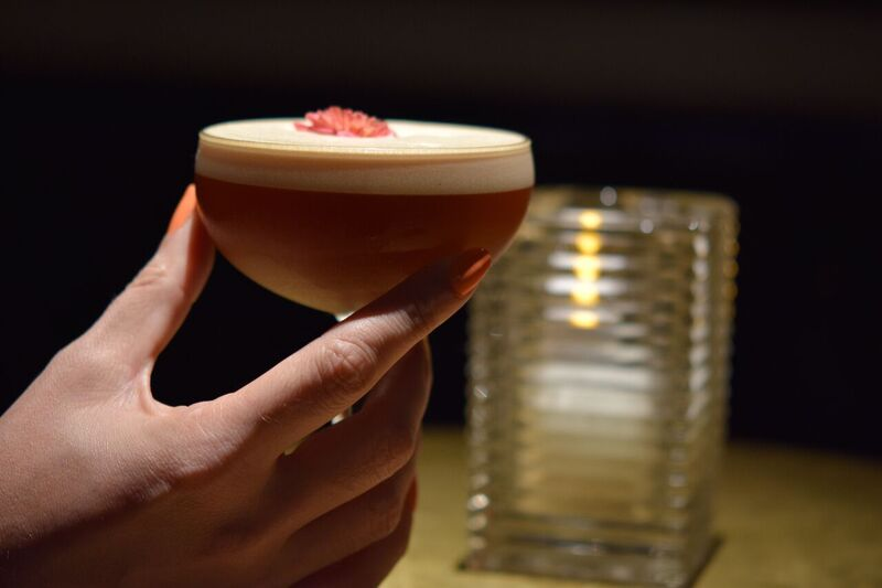 When it comes to celebrating singlehood this Valentine's Day, take a seat at Casa's speakeasy-vibe bar for one of their delicious cocktails.