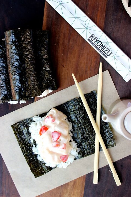 Kiyomizu's Scallop Handroll