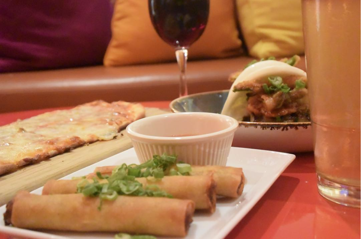 Red Bar's crowd-favorite Happy Hour menu on display | Photo courtesy of Hotel Irvine via Instagram