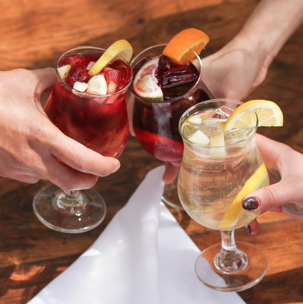 It's never too late to grab a chilled glass of Habana's famous sangria | Photo courtesy of Habana via Instagram