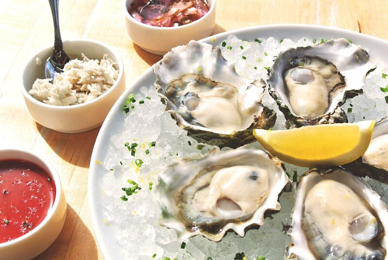 When oysters are only $2 a piece at Shuck Oyster Bar, why not just get a little bit of everything?