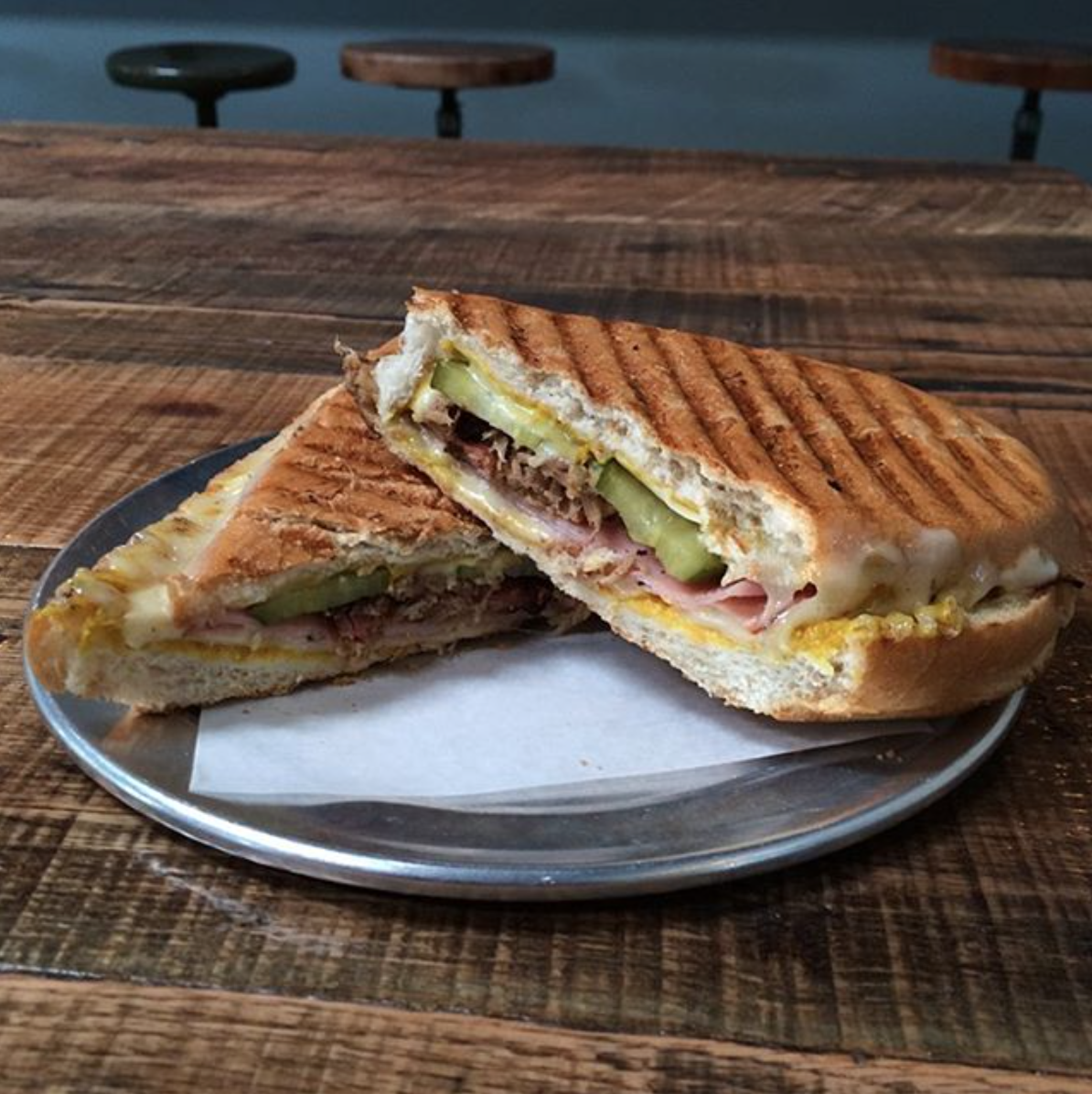 Barley Forge's Cuban Grilled Cheese | Photo courtesy of Barley Forge Brewing Co. via Instagram