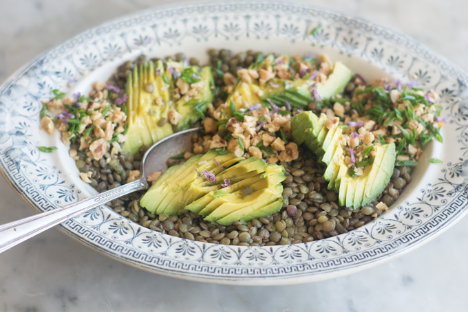 Avocado Quinoa Salad | photo courtesy of butterleaf