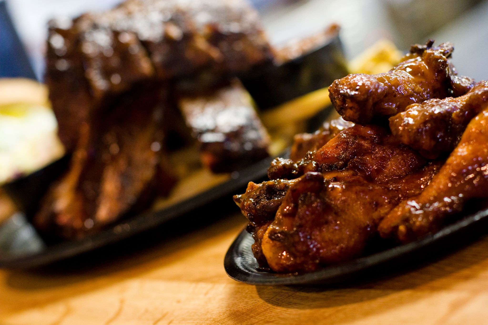 Bring Dad and the entire family to Blake's for a Sunday BBQ fix | photo courtesy of Blake's Place