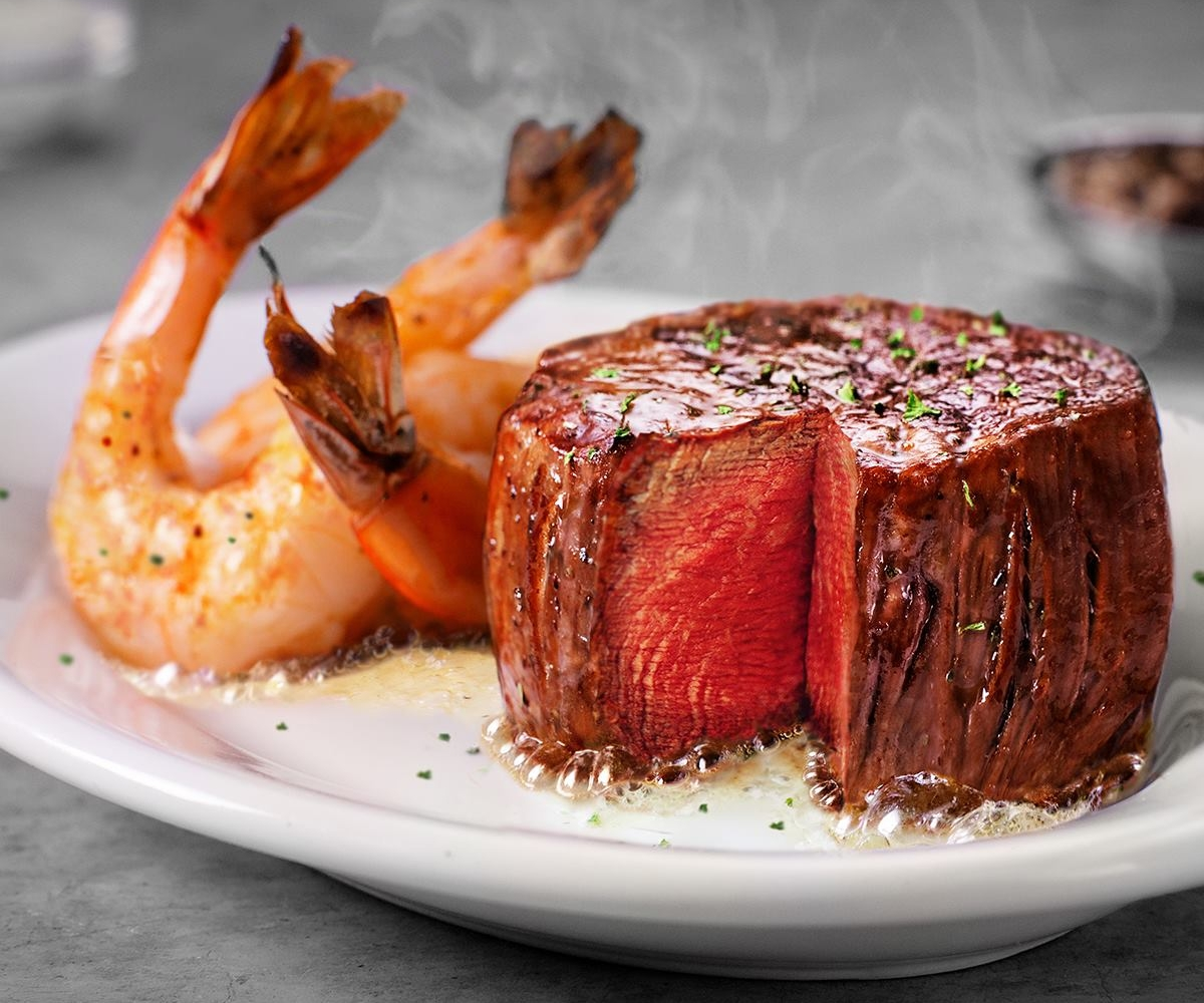 Petit Filet & Shrimp at Ruth's Chris is sure to leave Dad smiling | photo courtesy of Ruth's Chris