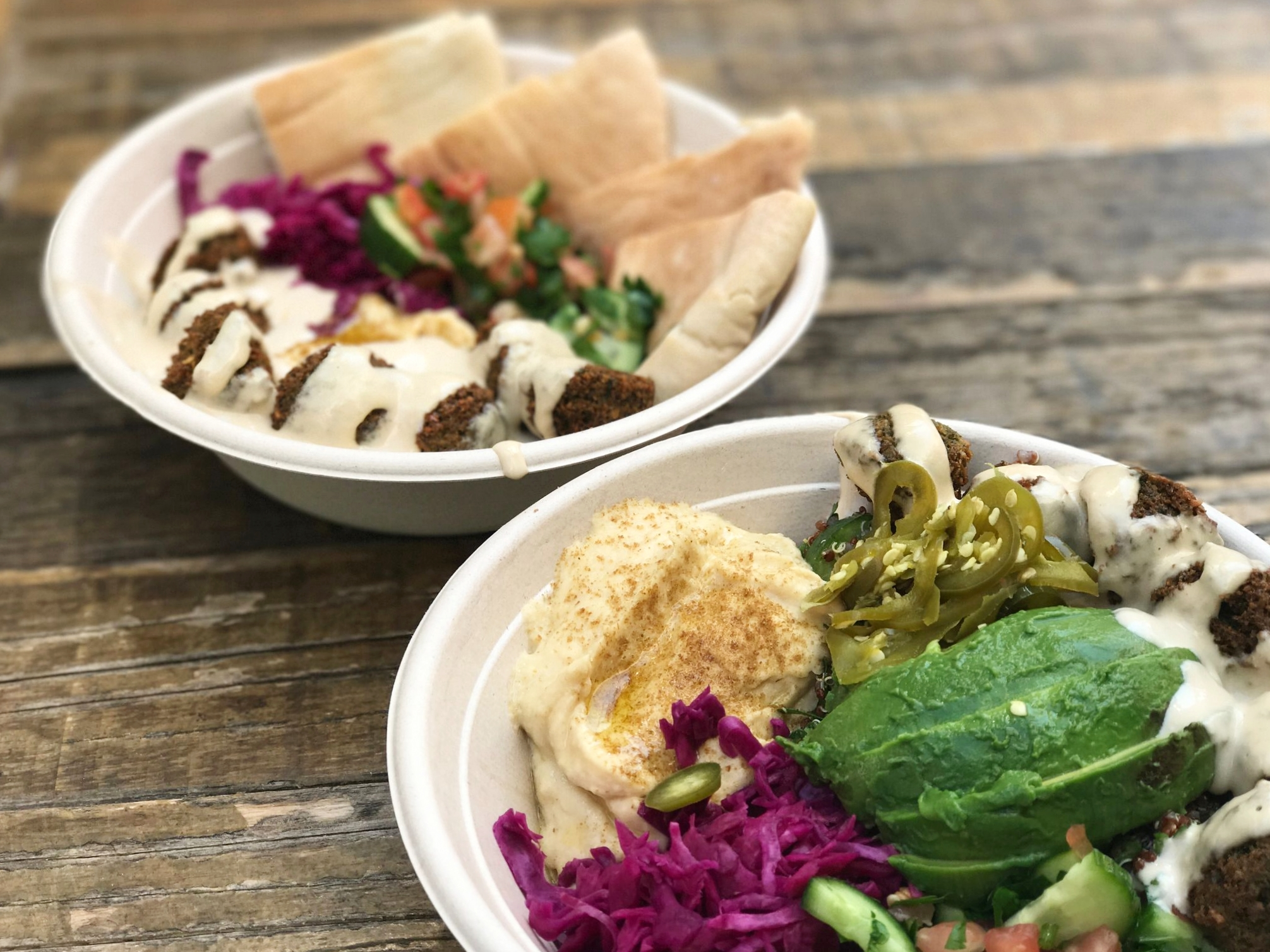 Falasophy's Bowls & Boxes are amidst their most popular menu items | photo courtesy of 100eats