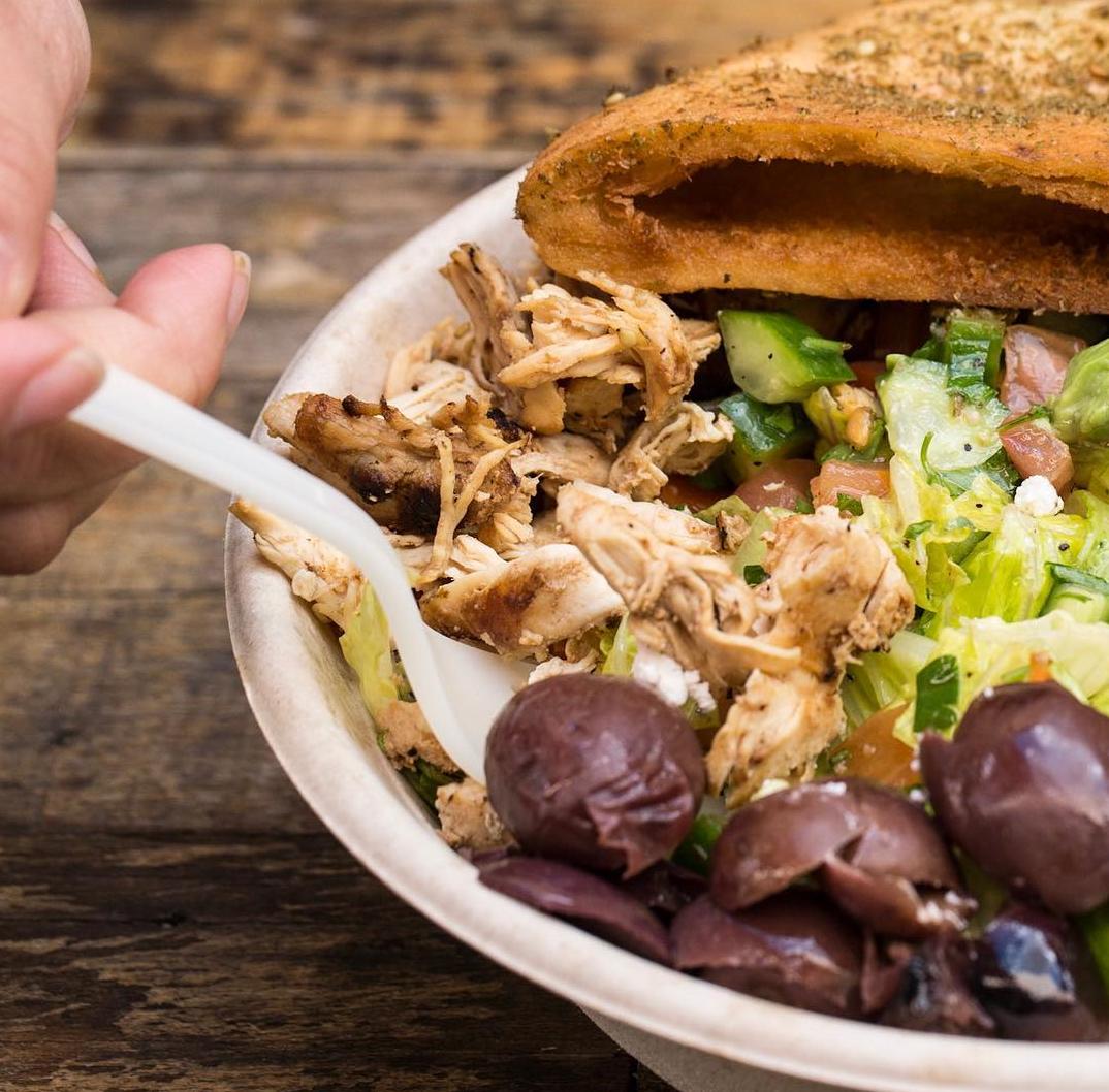 The fresh and fulfilling Cali Greek Salad | photo courtesy of Falasophy