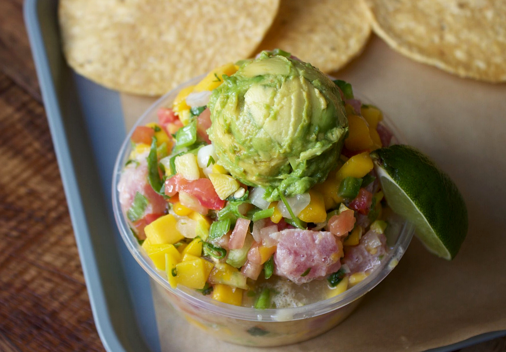 Refreshing Ceviche from MAR | photo courtesy of 100eats