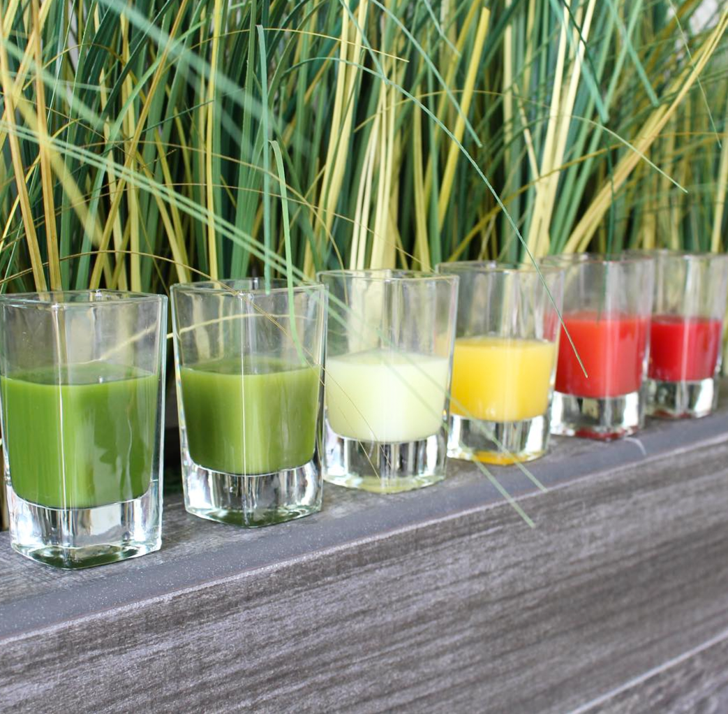 Get Juiced in OC this summer at spots like KRISP Fresh Living | photo courtesy of KRISP