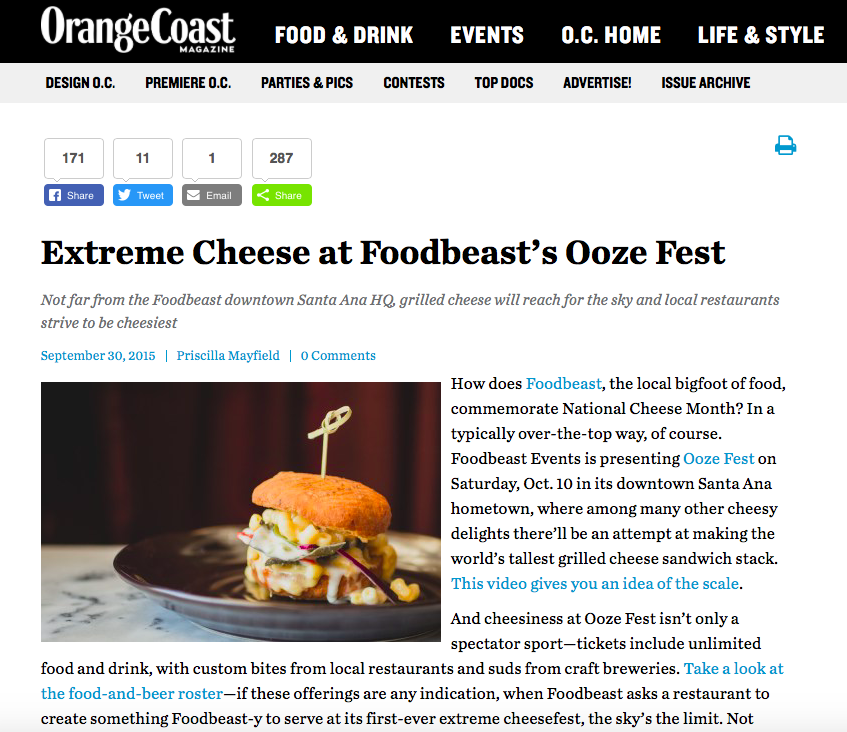 Orange Coast Magazine - October 2015