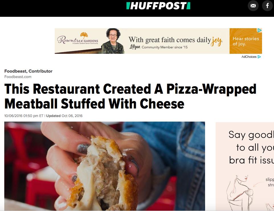 Huffington Post - October 2016