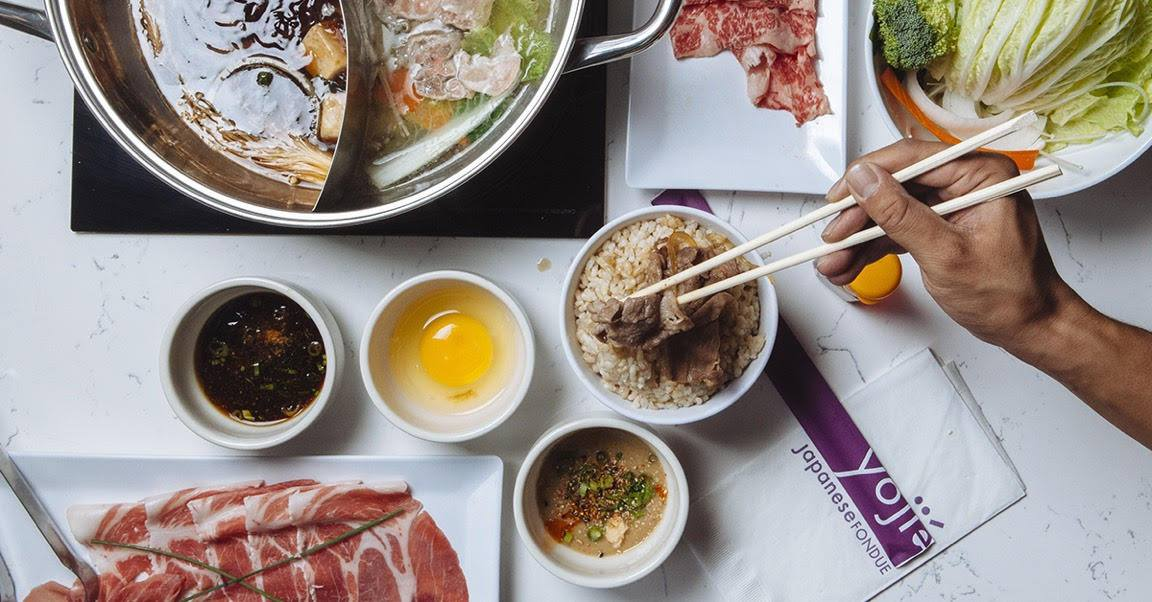 When shabu meets fondue | photo courtesy of Yogiie