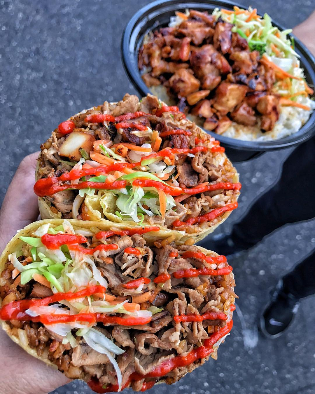 Be sure to bring your appetite when visiting one of DTSA's ultimate asian-fusion destination, Ninjas with Appetite | photo courtesy of Ninjas with Appetite