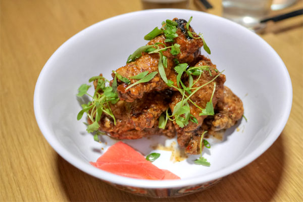 LA natives and visitors alike will fall in love with these wings | photo courtesy of Button Mash