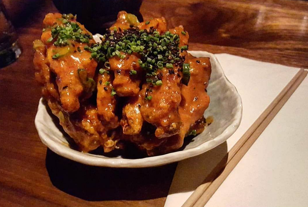 Bar Goto's flavorful wings are nearly impossible to stop eating | photo courtesy of Bar Goto