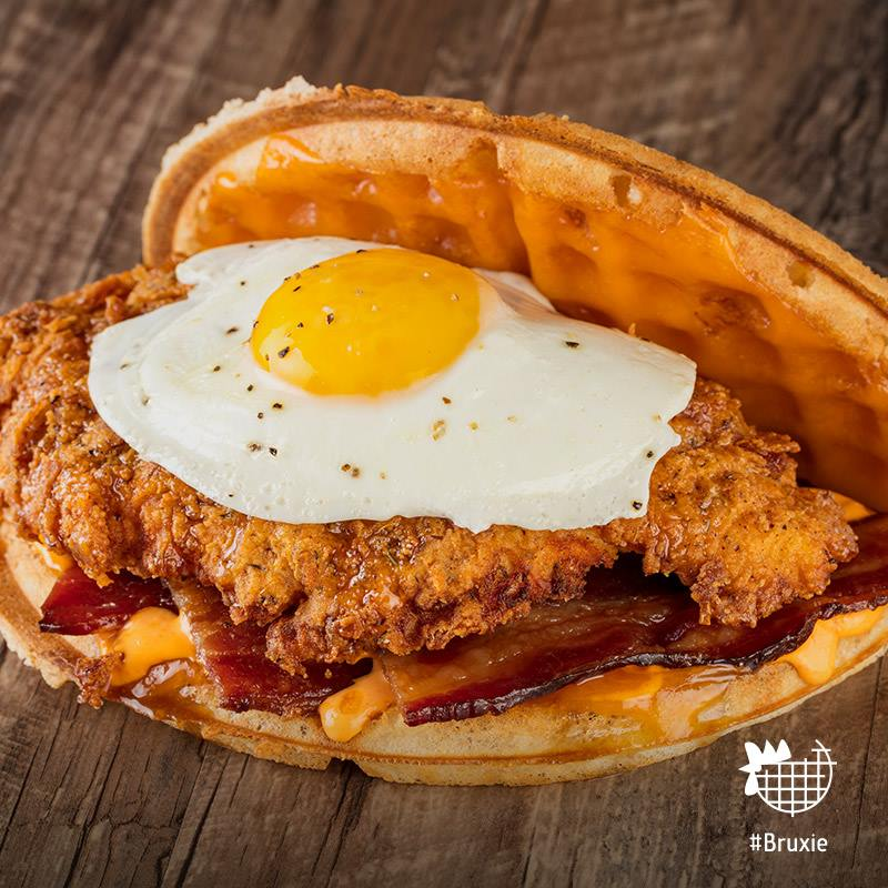 Waffle sandwiches have been redefined by Bruxie | photo courtesy of Bruxie